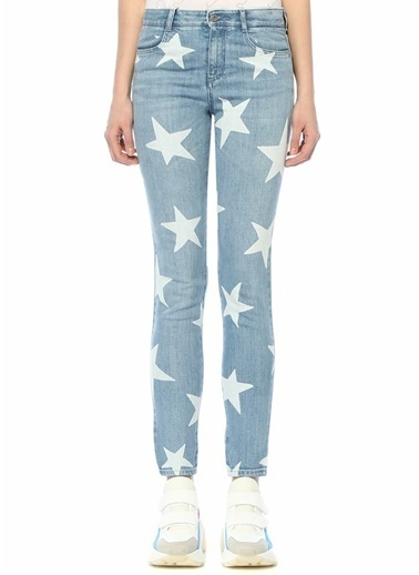 Stella McCartney Jean Pantolon Mavi